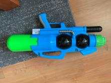 Nová vodná veľká pištoľ,
