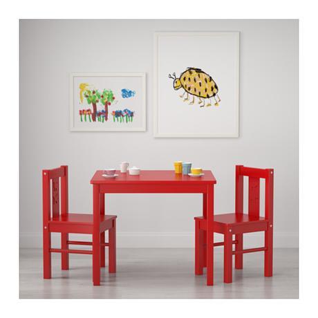 65661d66afe2d Drevená detská sada (stôl a stoličky) kritter, - 64 € od predávajúcej  eurekashop | Detský bazár | ModryKonik.sk