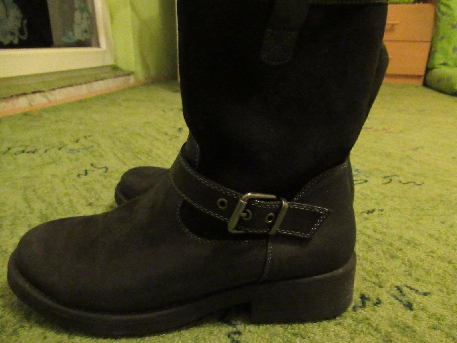 Možno 2x obuté teplučké čižmy z deichmannu 03d0190e96e