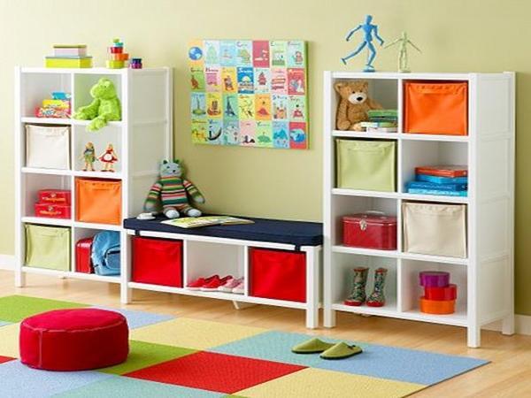 Detsk izba pre tvorro n ho chlapca for Baskets for kids room
