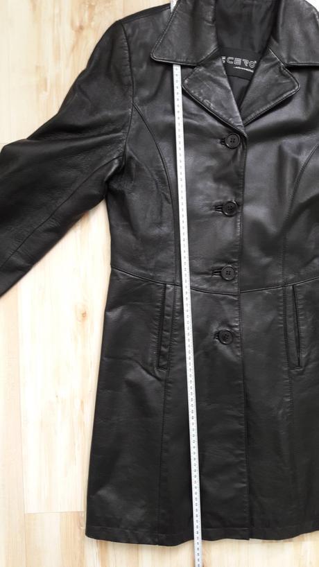 fb81e8075 Kožený kabát k-cero, 48 - 25 € od predávajúcej jazinka   Detský ...
