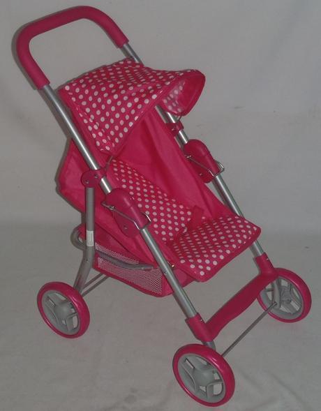 Športový kočík pre bábiky baby mix 9353-m1422,