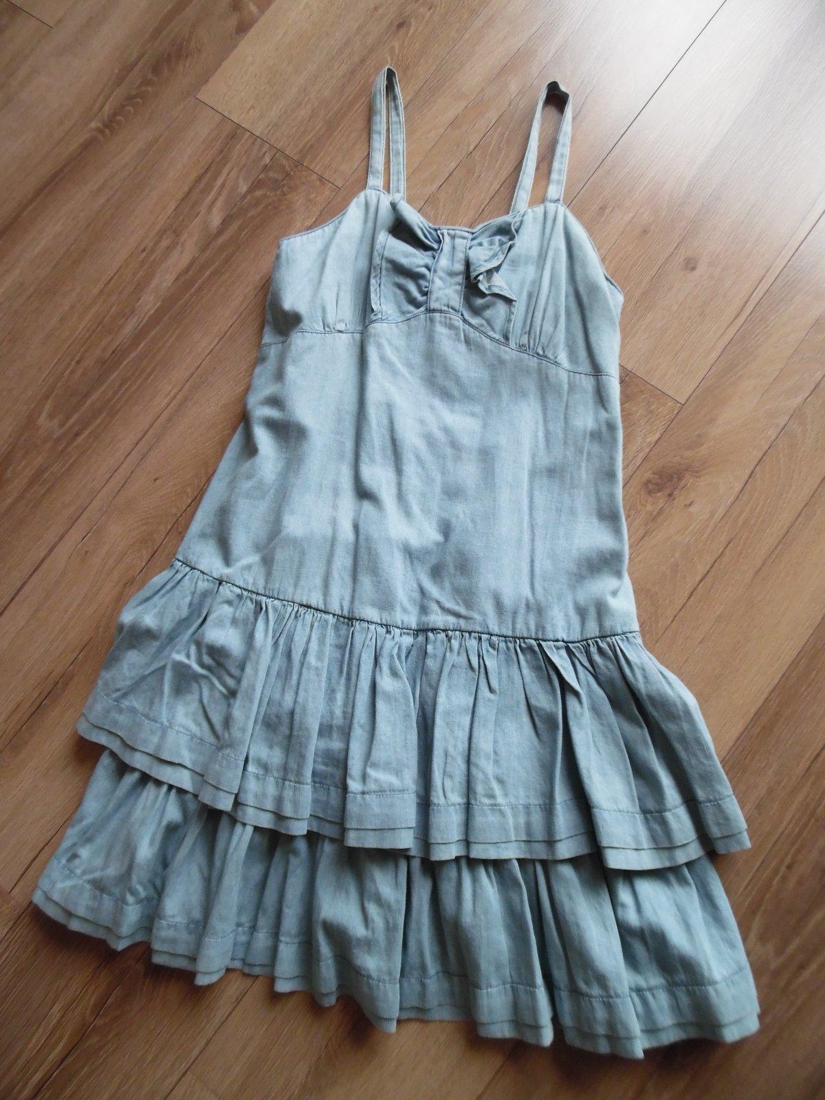 25632952c26e Letné rifľové šaty
