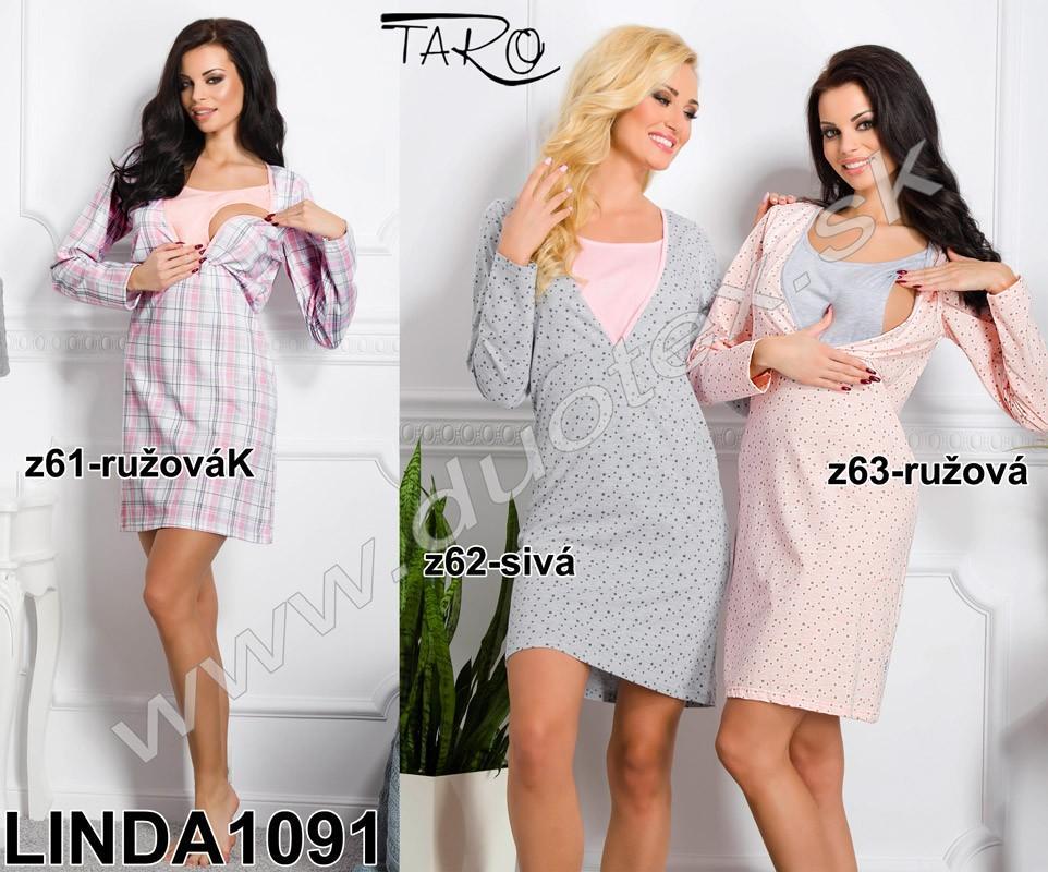 b59a573329eb Dámska nočná košeľa linda na kojenie