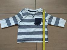 Pásikavé tričko - top stav, f&f,68