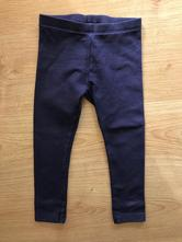 Legínky hrubšie/teplejšie 98/104 tmavo-modré, lupilu,98