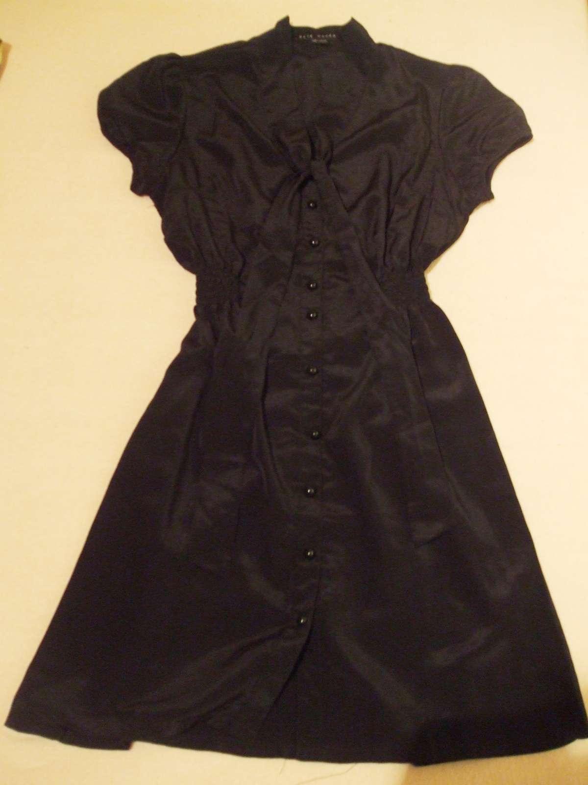 Dámske letné čierne šaty - gate woman - 36 3ed4487e10a