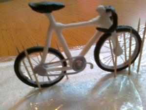 ako sa robi bicykel s fondanu ...