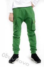 Chlapčenské pudlové nohavice mm 601 green, 92 / 98
