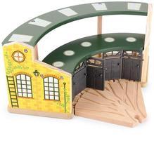 Depo pre lokomotívy round house   (8558),