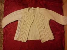 Pletený svetrík, h&m,68
