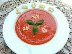 1r.+ Rajčatová polévka s těstovinou