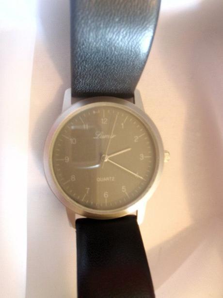 Pánske čierne kožené hodinky lumir 6fc4b7a1e0