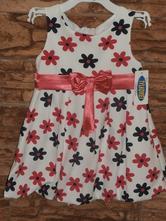 Dievčenské šaty - kvetinkové 2  veľ.104  , 104