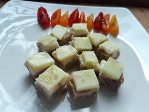 chlebik s uhorkou