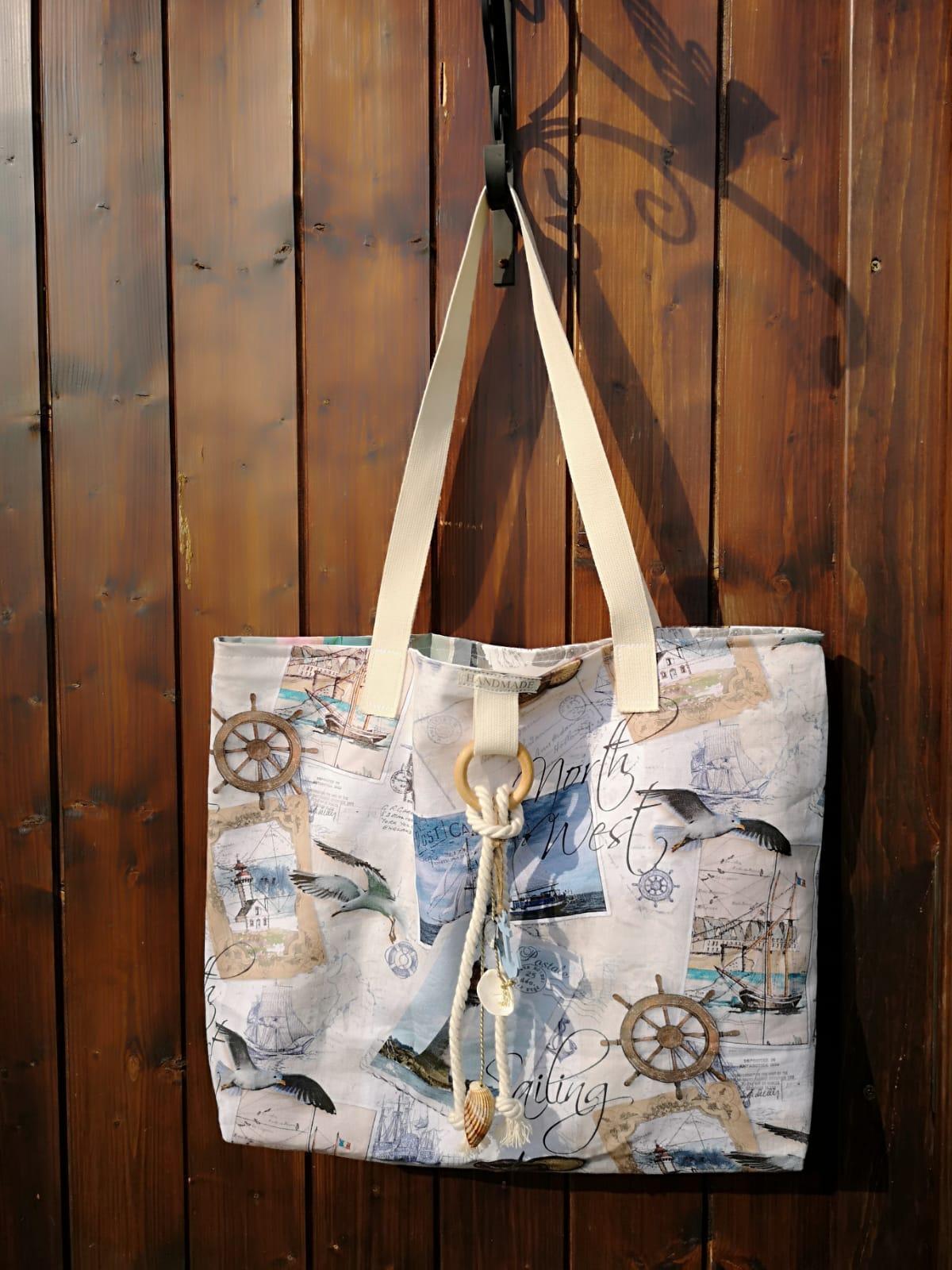27e724167e Veľká plážová taška - predaná