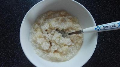 Hruskova ryza s vanilkou