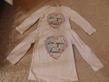 1x oblečené tenké pulovriky c&a /baby club/ 2 kusy, 92