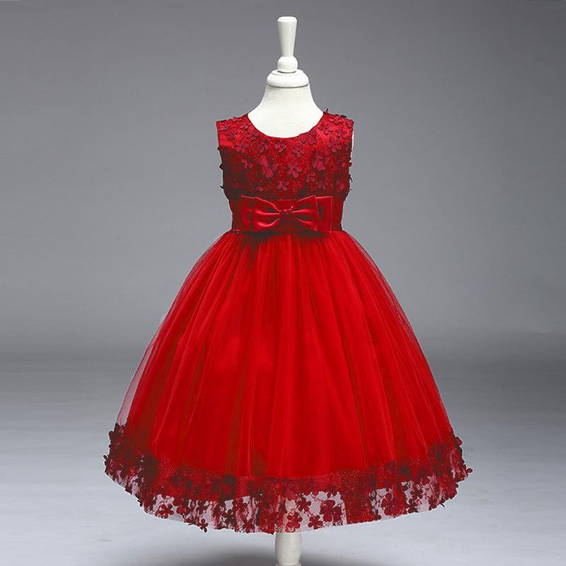 9b65cc1812a2 Krásne detské šaty l314 - červené