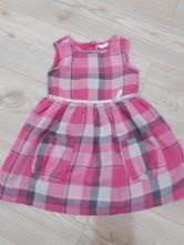 Ružové karovane šaty, pepco,92
