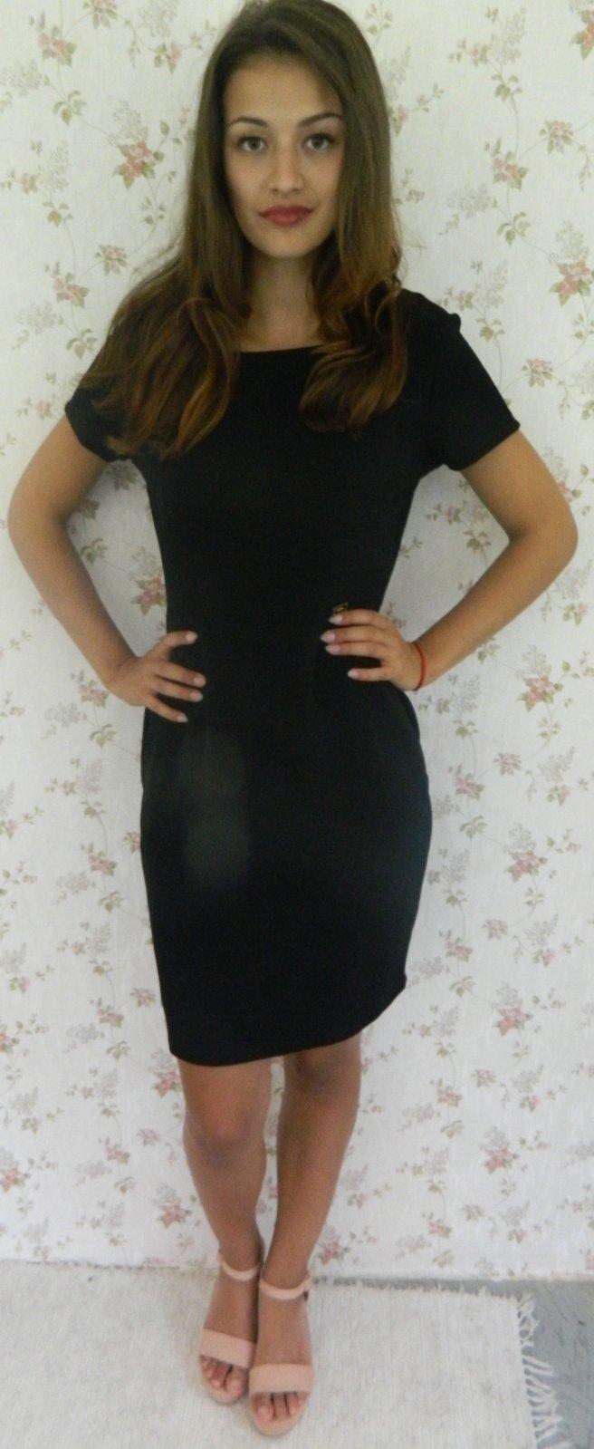 Čierne biznis šaty 050720e4161