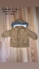 Zimný kabát, h&m,86