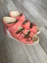 Kožené sandalky, 35