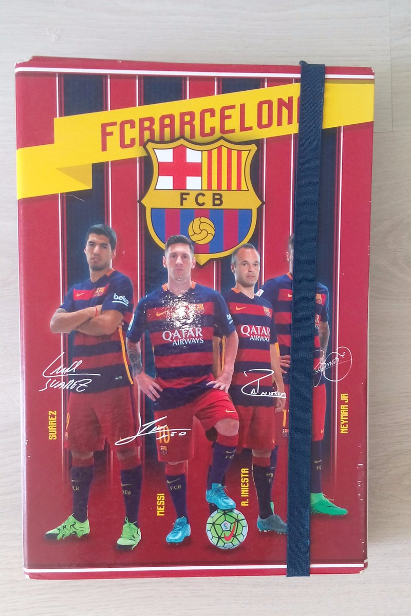 2d75d93375 Barcelona školský box na a4 zošity