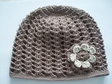 Háčkovaná čiapočka, 50 - 128