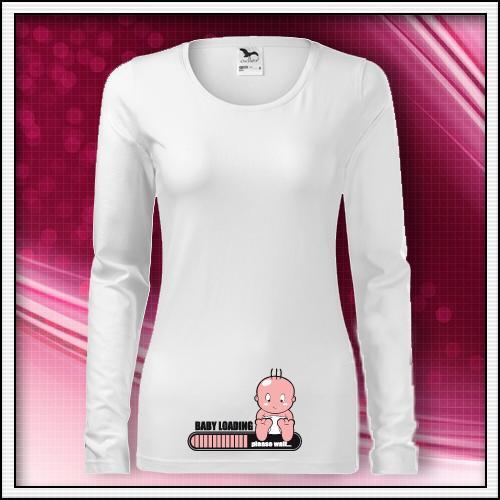 faa264fd48 Tehotenské vtipné dlho rukávové tričká s potlačou. Baby loading -  http   www.vtipnetricko.com 3-tehotenske-tricko-saty-vtipna-potlac - Album  používateľky ...