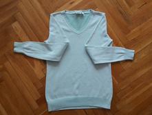 Tyrkys mätový pulóver, 38