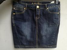 Dámska riflová sukňa, amisu,38