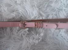 Ružový opasok na šaty,