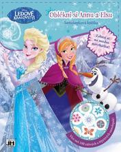 Samolepková knižka - obleč si - frozen,