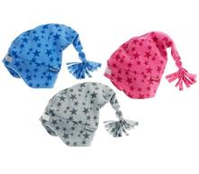 Playshoes fleecová čiapka hviezdička (422055), playshoes,<50 / 50