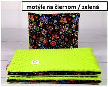 Súprava deka a vankúšik 75x100cm, 35x30cm,