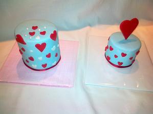 valentinske minitorticky