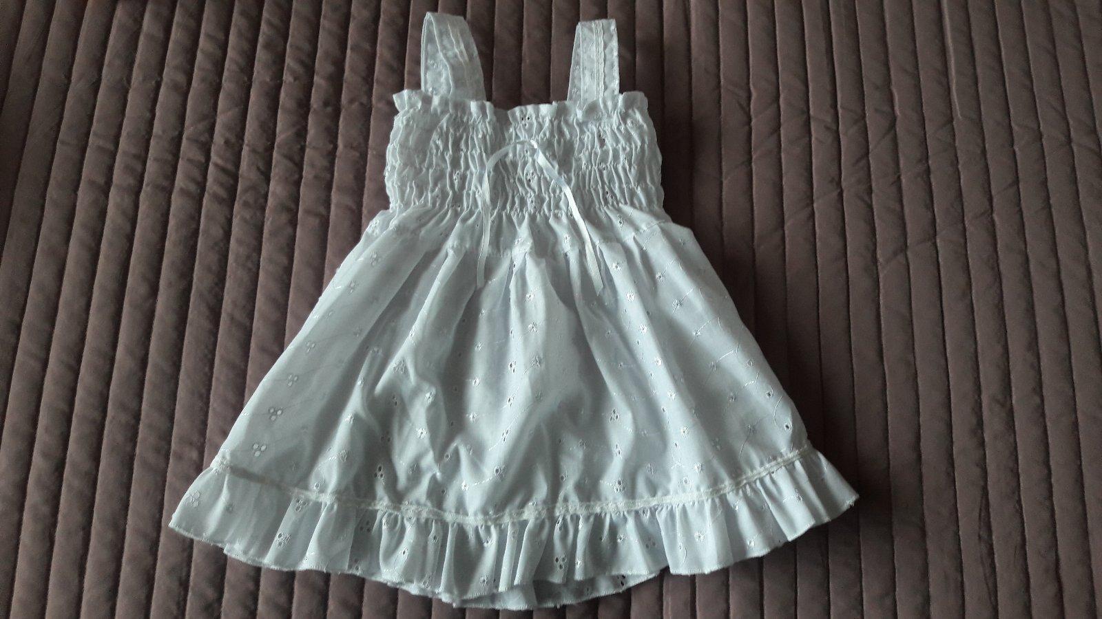 bfc78076c72e Predám pekné biele šaty na leto