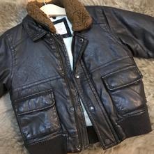 Kožená zimná bunda - zara, zara,86