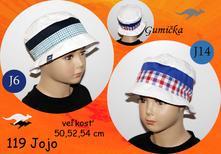Letný klobúk jojo, rada,86 - 140