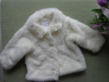 Huňatý kabátik, h&m,80