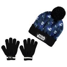 Star wars čiapka + rukavice, disney,80 - 128