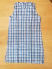 Kockované šaty, l