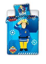 Obliečky do postieľky požiarnik sam 100/135 cm, 100,130