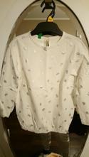 Srdiečkové tričko, benetton,110
