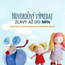 NEPREMEŠKAJTE NOVOROČNÝ VÝPREDAJ - ZĽAVY DO 50% na www.detskahracka ... 1f4a84857b5
