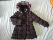 Hnedá zimná bundička, palomino,110