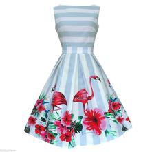 Rockabilly šaty - v retro štýle - 35 druhov, 36 - xxxl
