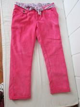 Menčestrové nohavice, benetton,116