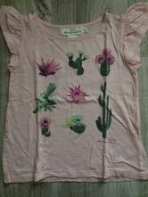 Tričko kaktus 4-6 rokov, h&m,110